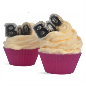 Halloween Boo MP Soap Cupcake Kit