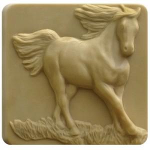 Horse Running Soap Mold (Milky Way)