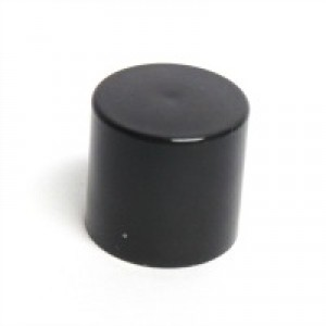 Lip Tube Round Cap, Black