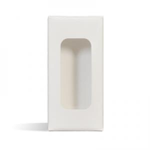 Lip Tube Box (Holds 2 Tubes) - WHITE