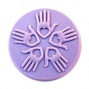 Loving Hands Soap Mold (Milky Way)