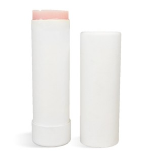 2 oz Paperboard Tube & Cap Set, White