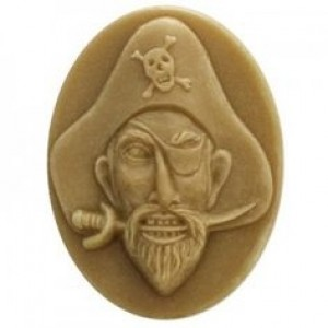 Pirate Soap Mold (Milky Way)