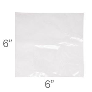 Polyolefin Shrink Wrap Flat Bags 6x6