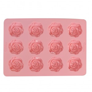 Rose Small Silicone Mold