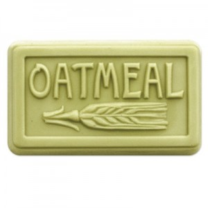 Rounded Oatmeal Soap Mold (Milky Way)