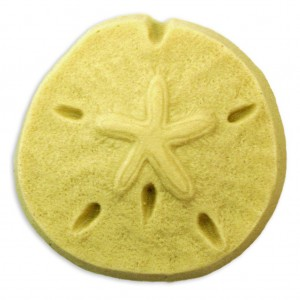 Sand Dollar Soap Mold (Milky Way)