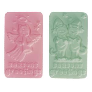 Seasons Greetings Soap Mold (Milky Way)