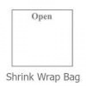 Shrink Wrap Flat Bags 6x6