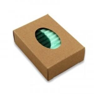 Soap Box - Kraft, Oval Window