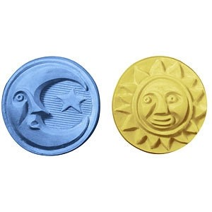 Sun & Moon Guest Soap Mold (Milky Way)