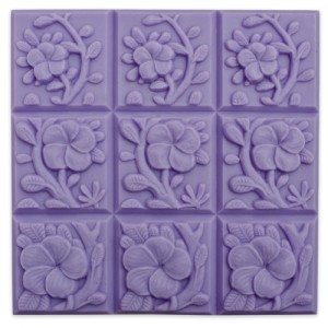 Tropical Vines Soap Mold (Milky Way)