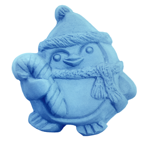 Winter Penguin Soap Mold (Milky Way)