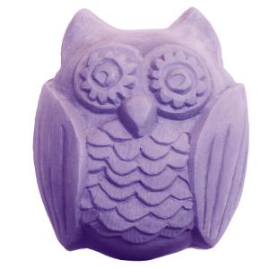 Woodland Owl Soap Mold (Milky Way)