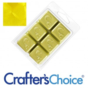 Crafters Choice™ Yellow Canary Sparkle Mica Colour Bar