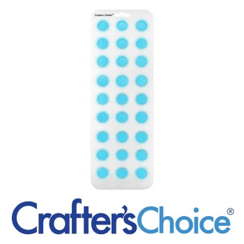 "Crafters Choice™ Round Ball 7/8"" Silicone Soap Mold 1803"
