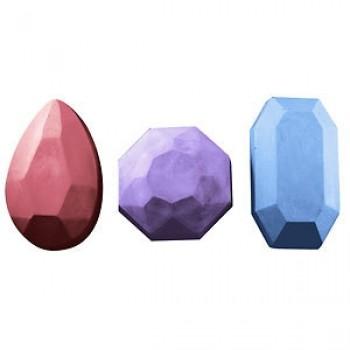 3 Gems Soap Mold (Milky Way)