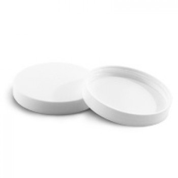 70/400 White Smooth Lid w Liner