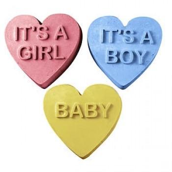 Baby Hearts Soap (Milky Way)