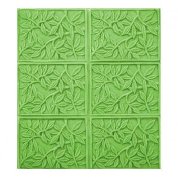 Bamboo Leaves Soap Mold - Tray (Milky Way)