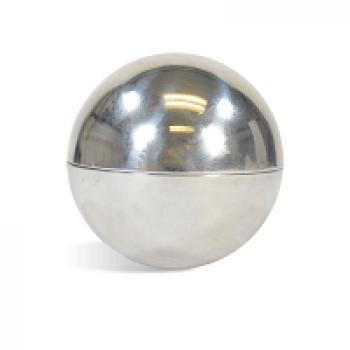 "Bath Bomb Mold - 2.5"" Metal"