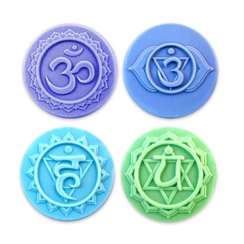 Chakras 1 Soap Mold (Milky Way)
