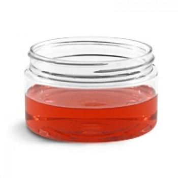 Clear, Heavy Wall Plastic Jar - 120 mL (70/400)