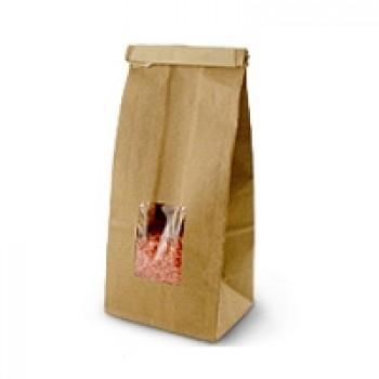 Kraft Window Bag (Medium)