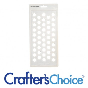 Crafter's Choice Lip Tube Filling Tray, Round - 3001