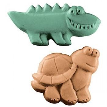 Kids Reptiles Soap Mold (Milky Way)