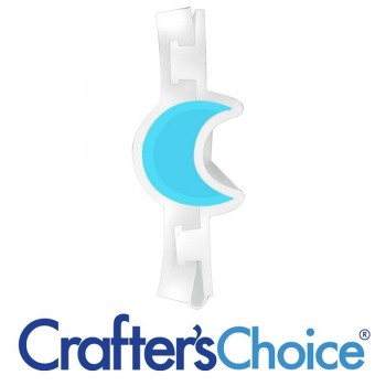 Crafters Choice™ Moon Mini Column Silicone Soap Mold 2026