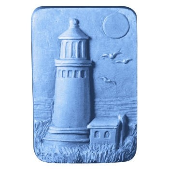 New England Lighthouse Soap Mold (Milky Way)