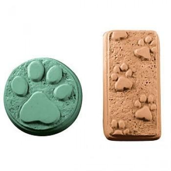 Paw Prints Soap Mold (Milky Way)