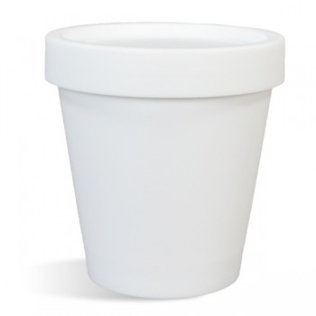 Pot & Lid Set - 200 mL, White