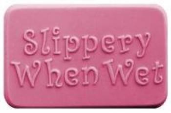 Slippery When Wet Soap Mold (Milky Way)