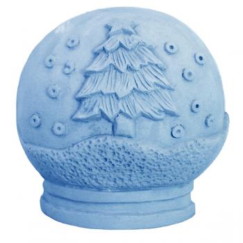 Snow Globe Soap Mold (Milky Way)