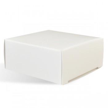 Soap Box - Square with No Window, White