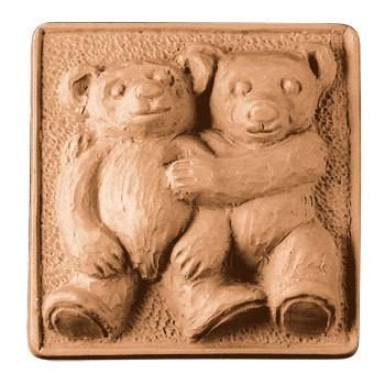 Teddy Bears Soap Mold (Milky Way)