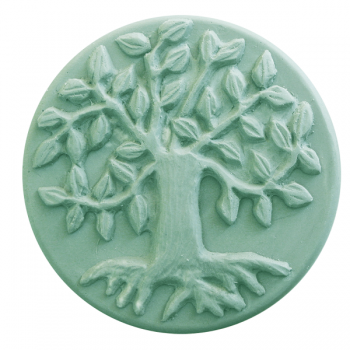 Tree of Life Round Soap Mold (Milky Way)
