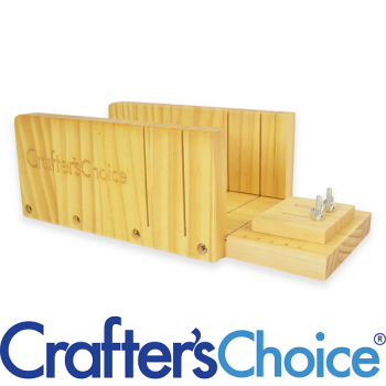 Wood Mitre Box, Crafters Choice™